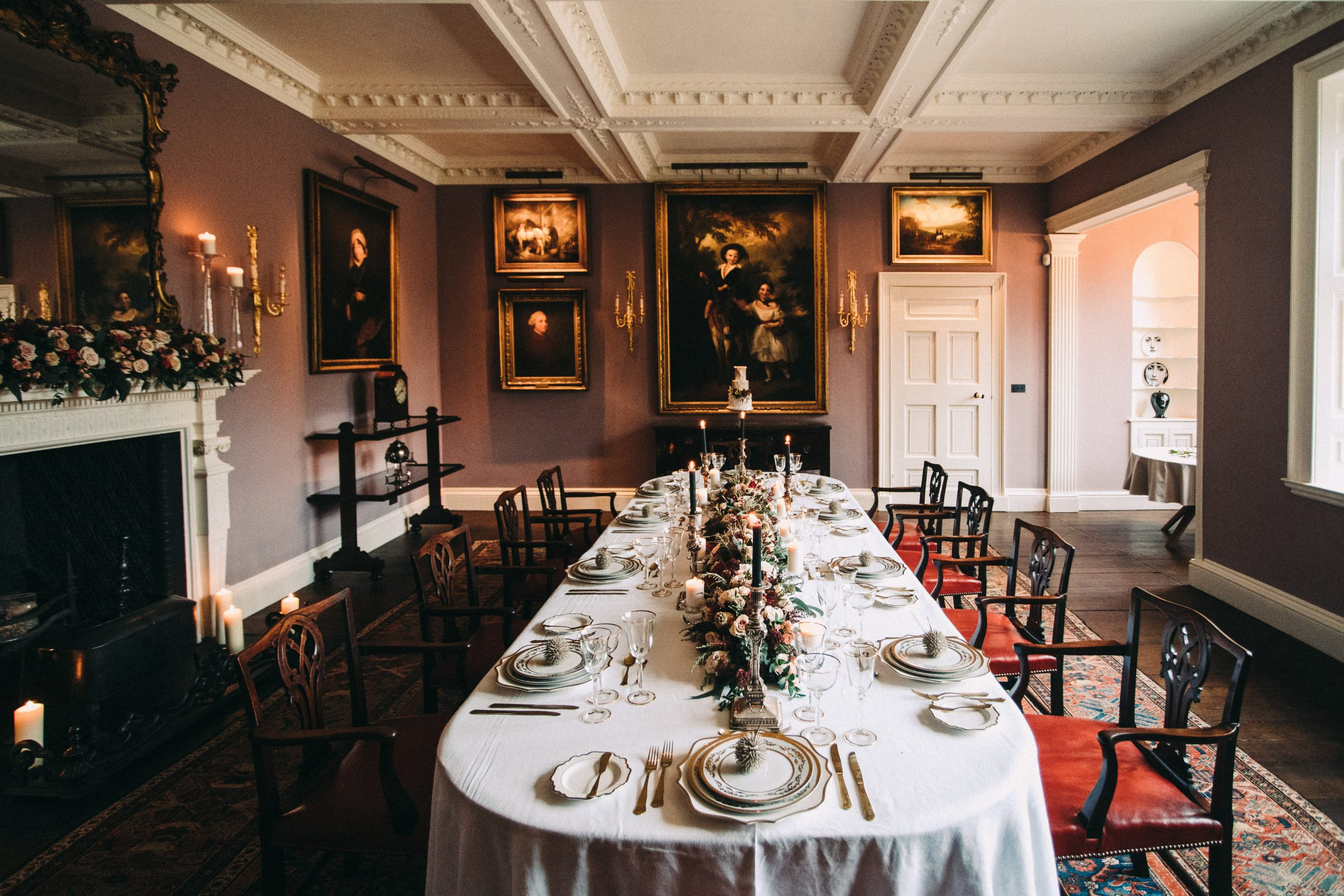The Dining Room/Hall - Photography by The Lawsons