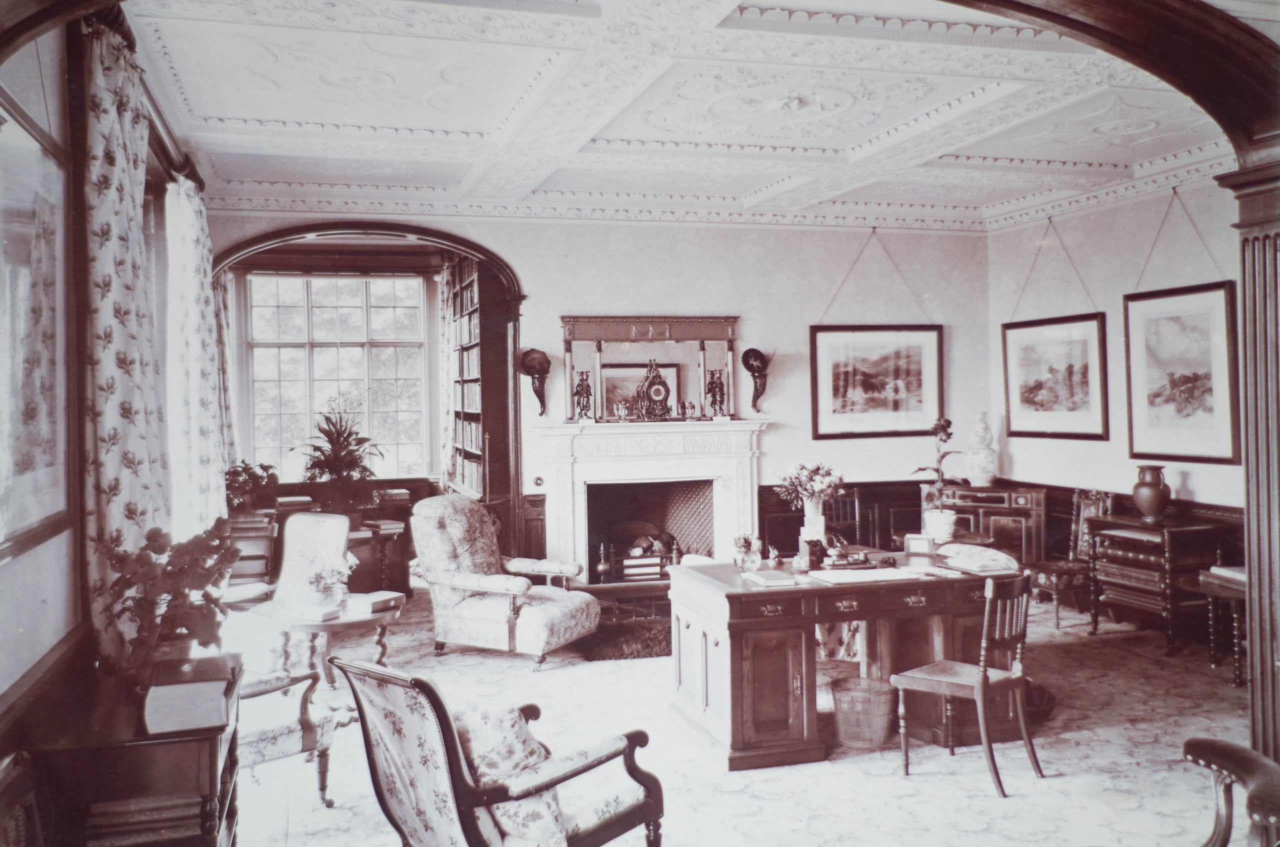 History of Dorfold Hall - Morning Room